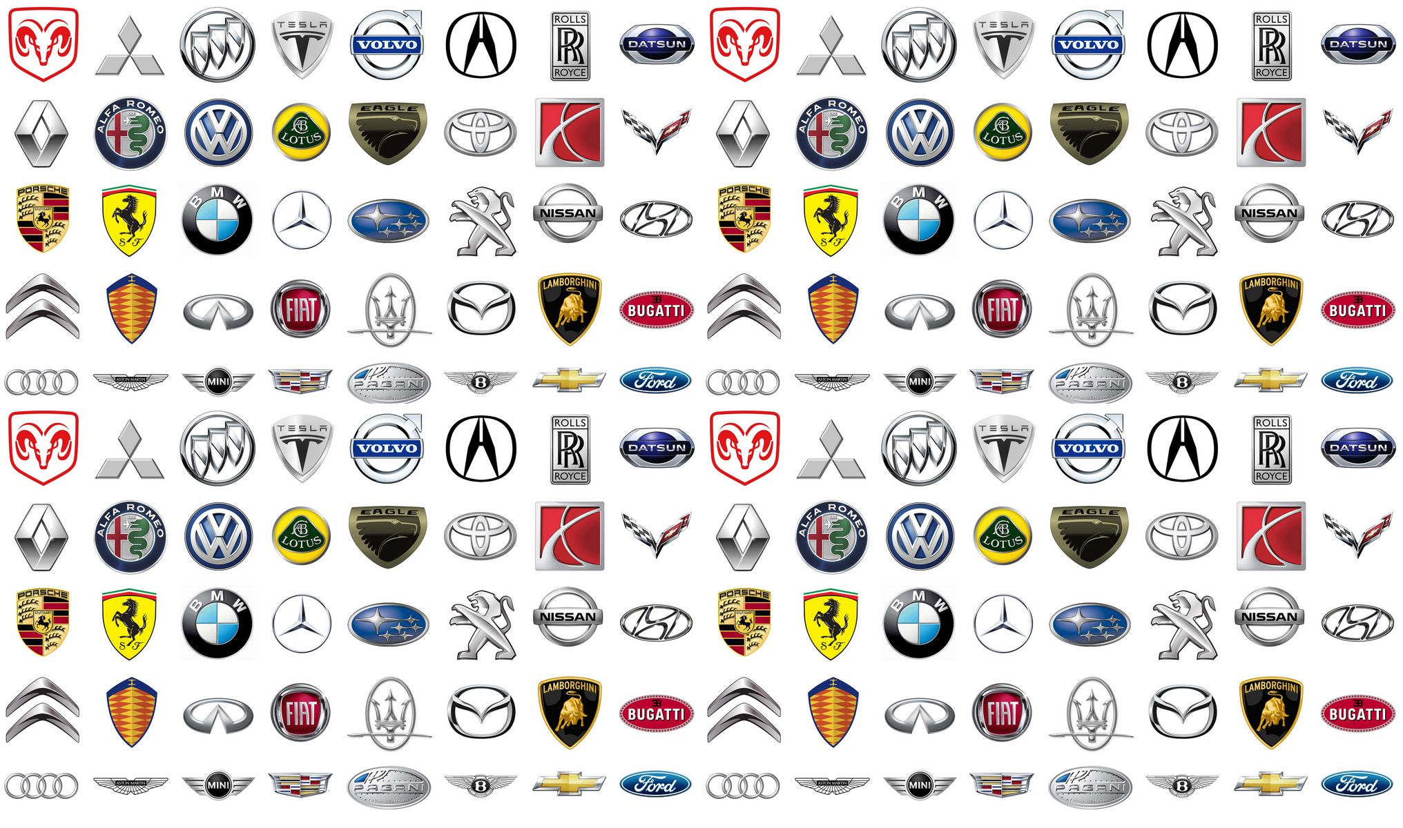 Image result for various car manufacturers